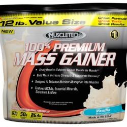 100% Premium Mass Gainer, 5400 g, Muscletech